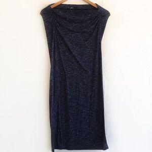 GAP Strapless Maxi Dress Tube Top or Skirt Heather
